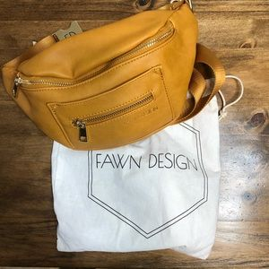 Fawn Design Fanny Pack. Honey color